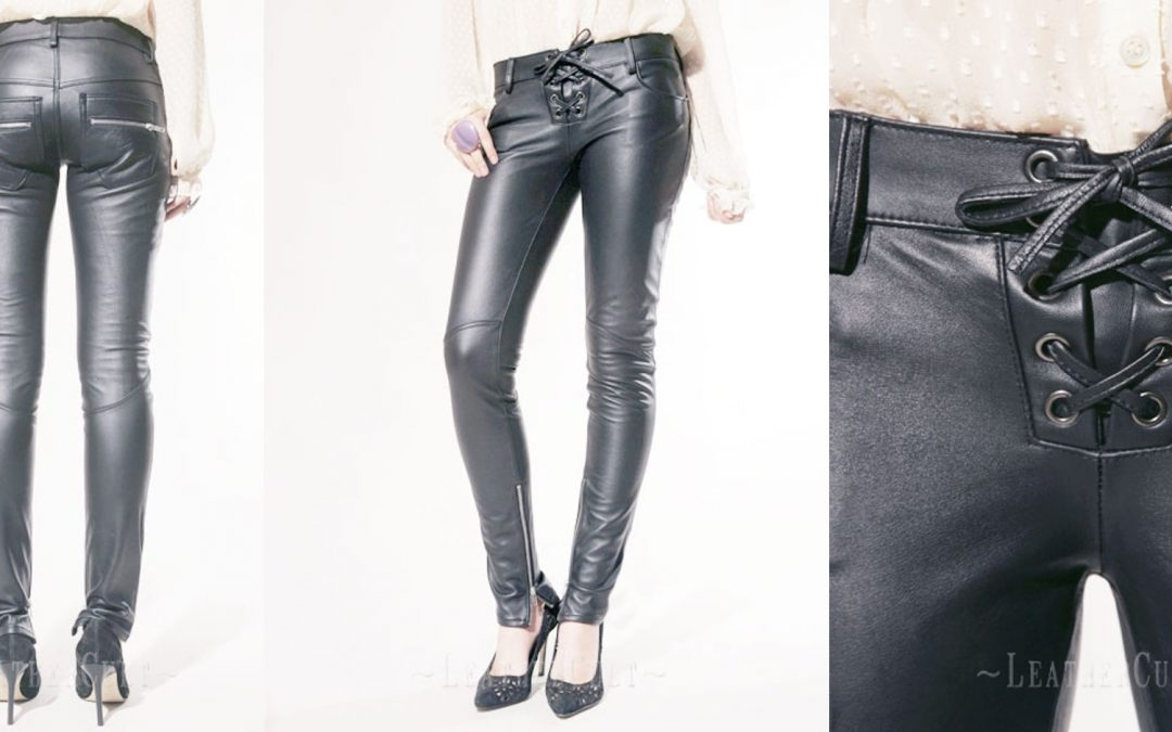 Leather Biker Jeans – Style #506