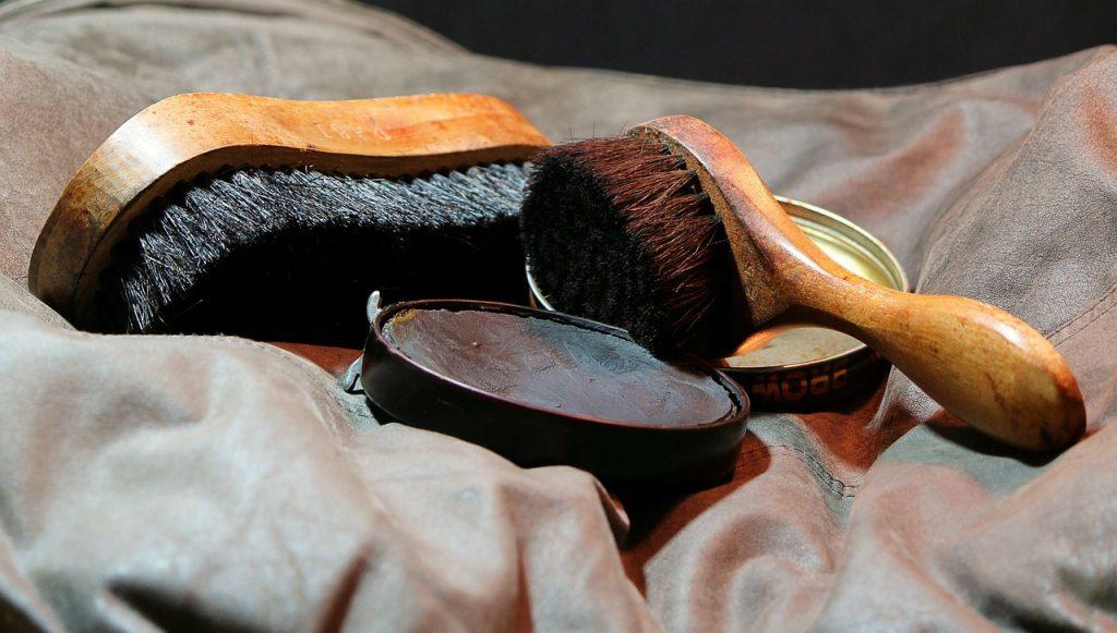 Saddle Soap on Leather