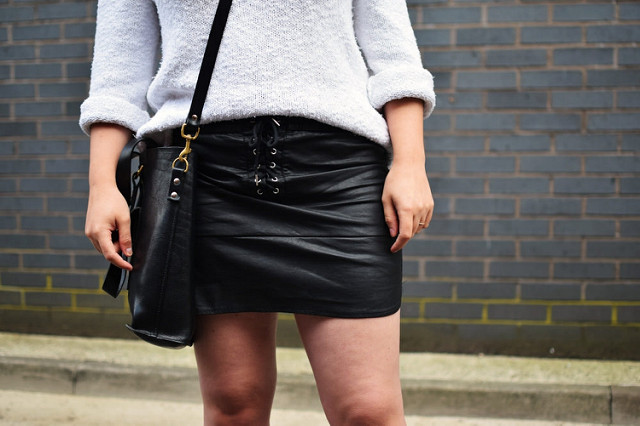 7 Fashion Rules to Follow When Wearing a Leather Skirt