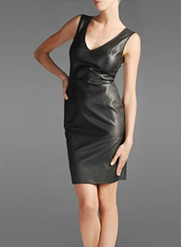 9 Reasons to Invest in a Leather Dress