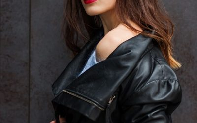 10 Tips on How to Rock a Leather Jacket This Fall