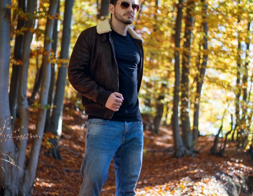 How to Wear a Brown Leather Jacket