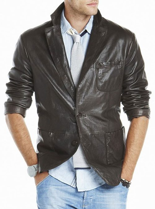 How to Choose a Leather Blazer