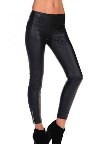 The Complete Guide to Leather Leggings