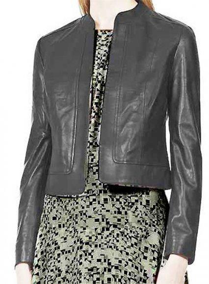 Short-Sleeve vs Long-Sleeve Leather Tops