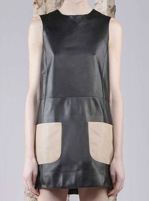 What Is a Patch Pocket Leather Dress?