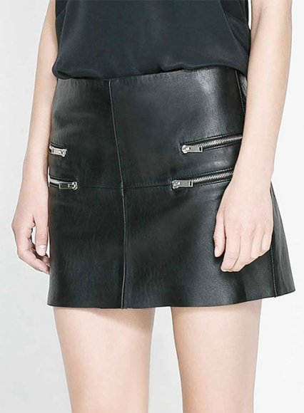 7 Leather Skirt Styles You Need to Know