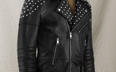 What Is a Studded Leather Jacket?