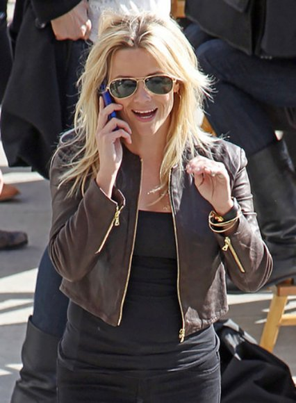Reese Witherspoon This Means War Leather Jacket