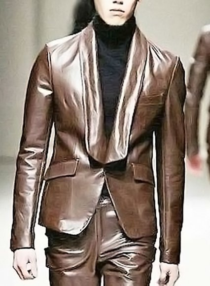 Leather Blazer - # 714