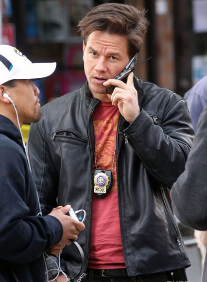 Mark Wahlberg The Other Guys Leather Jacket