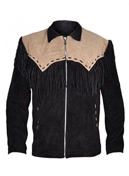 Leather Fringes Jacket #1013