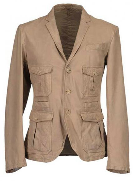 Leather Blazer - # 712