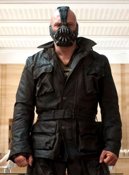 Tom Hardy The Dark Knight Rises Leather Jacket