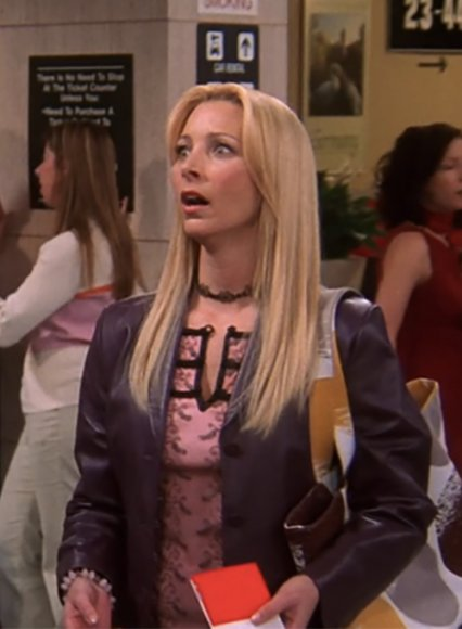 Lisa Kudrow Friends Season 10 Leather Jacket