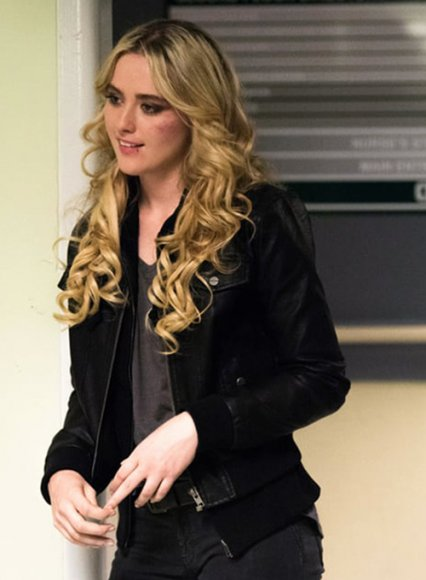 Kathryn Newton Supernatural Leather Jacket