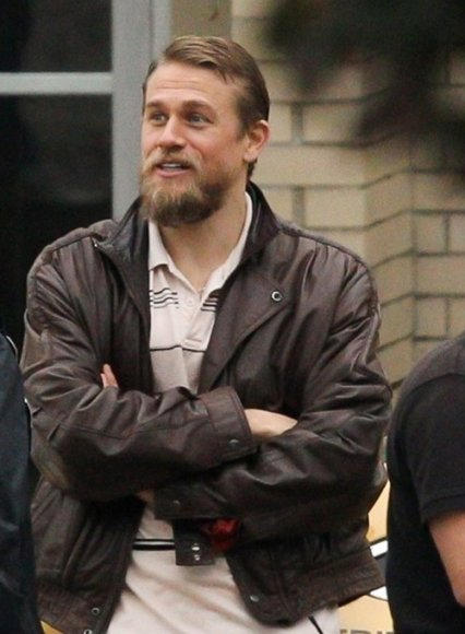 Charlie Hunnam Leather Jacket