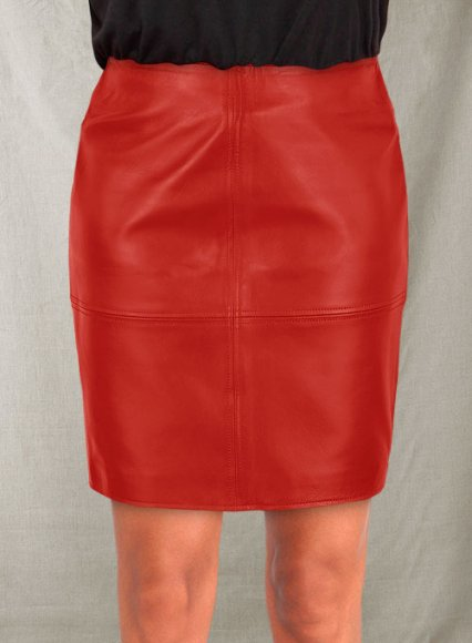Ashley Roberts Leather Skirt