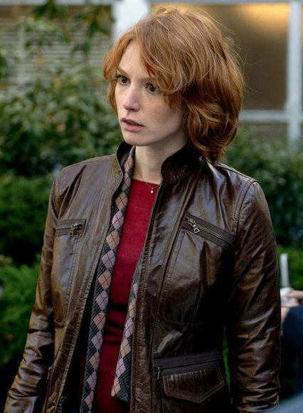 Alicia Witt 88 Minutes Leather Jacket