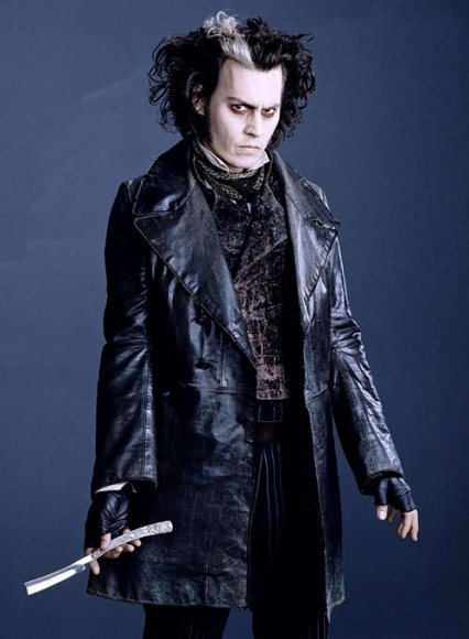Johnny Depp Sweeney Todd Leather Coat
