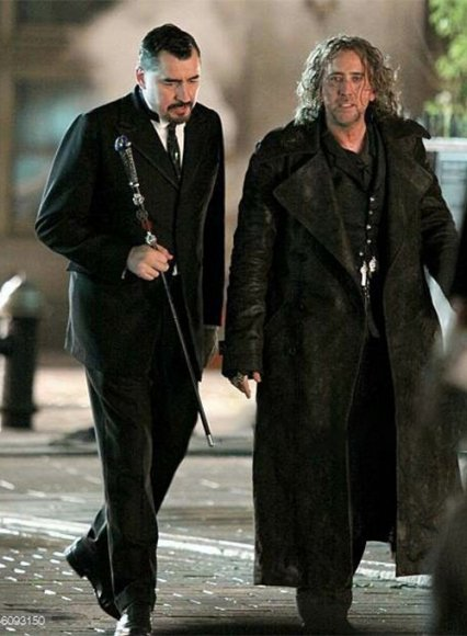 Nicolas Cage The Sorcerer's Apprentice Leather Long Coat