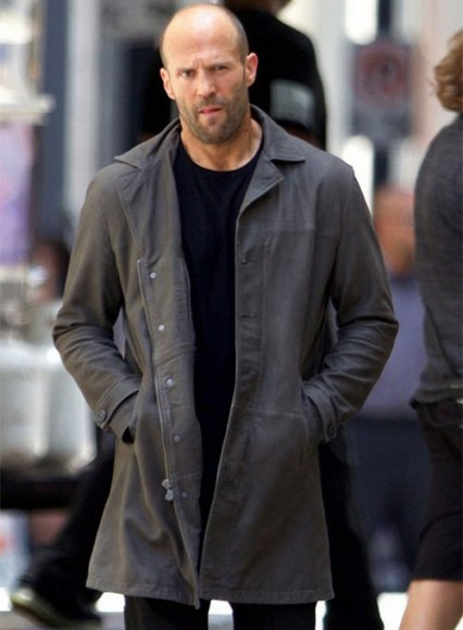 Jason Statham The Fate Of The Furious Leather Coat