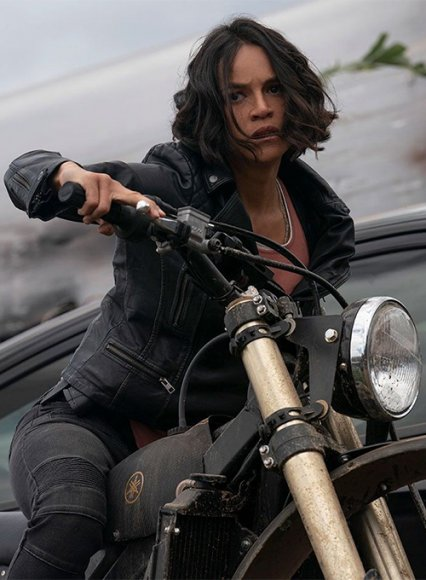 Michelle Rodriguez Fast & Furious 9 Leather Jacket