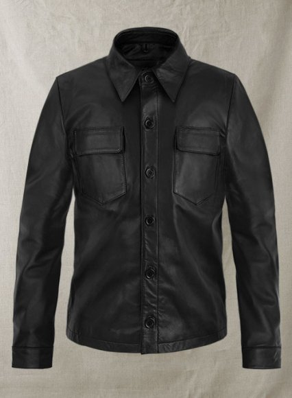 Leather Shirt # 1005