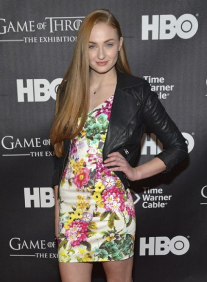 Sophie Turner Leather Jacket