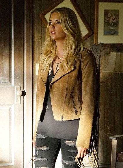 Ashley Benson Pretty Little Liars Leather Jacket