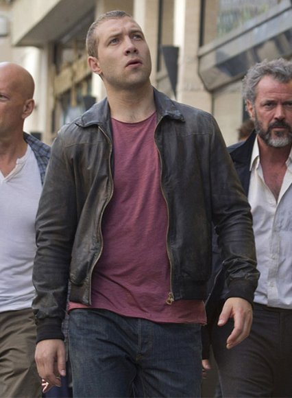 Jai Courtney A Good Day to Die Hard Leather Jacket