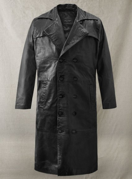 Javier Bardem Skyfall Leather Trench Coat