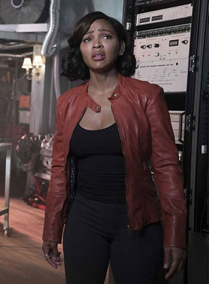 Meagan Good Minority Report Leather Jacket