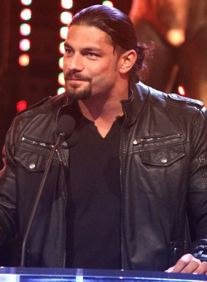 Roman Reigns Slammy Award Superstar Of The Year Leather Jacket