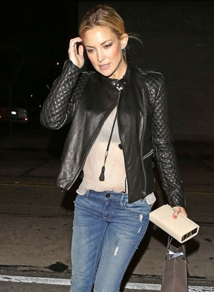 Kate Hudson Leather Jacket
