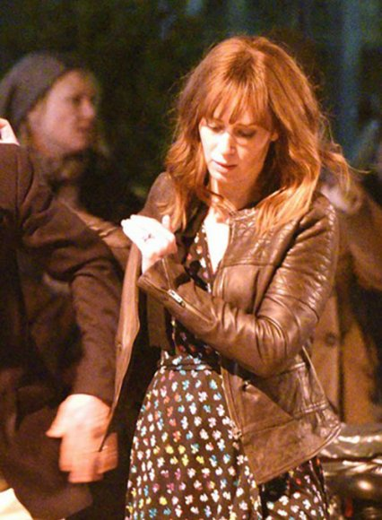 Emily Blunt The Girl On The Train Leather Jacket