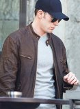 Captain America Civil War Chris Evans Leather Jacket