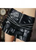 Glam Leather Skirt - # 414