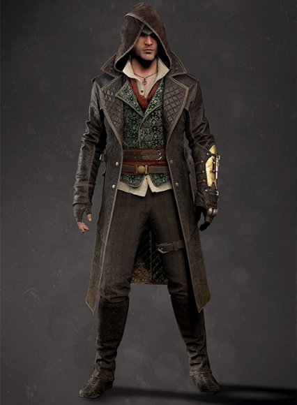 Assassin's Creed Jacob Frye Leather Long Coat
