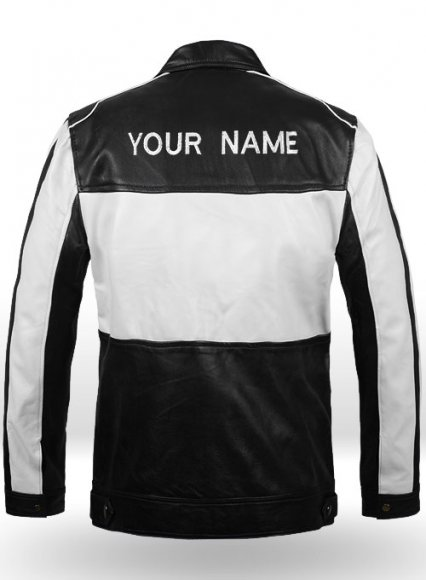 Your Name Leather Jacket