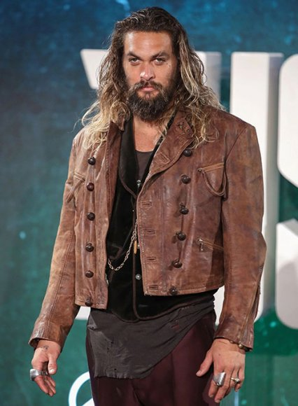 Jason Momoa Justice League Leather Jacket