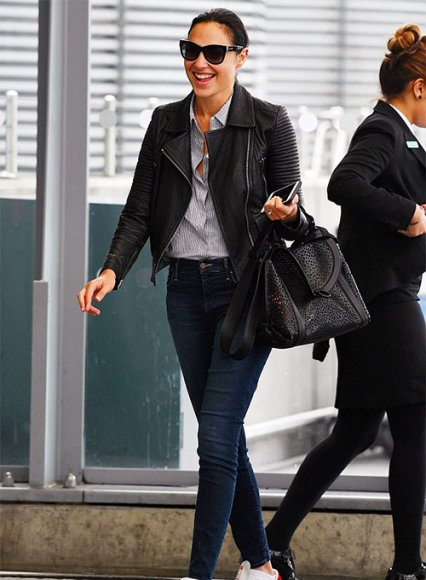 Gal Gadot Leather Jacket