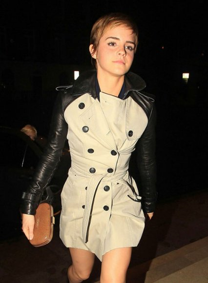 Emma Watson Pre-BAFTA Party Dress