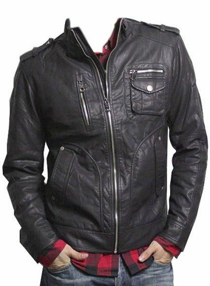 Leather Jacket #606