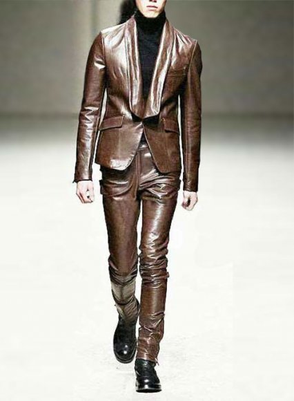 Leather Suit Style # 714