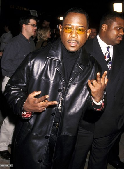 Martin Lawrence Leather Trench Coat