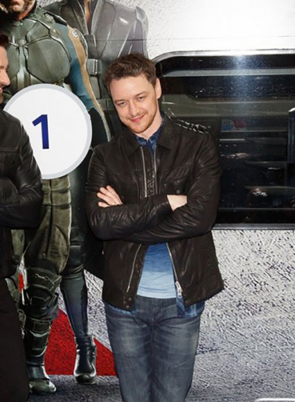 James McAvoy Leather Jacket #1
