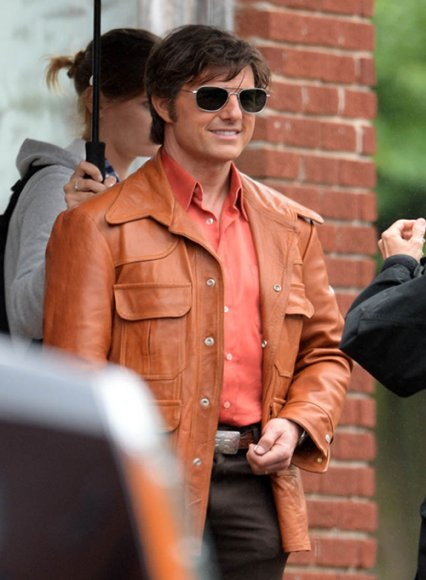 Tom Cruise American Made Leather Jacket