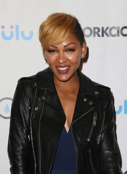 Meagan Good Leather Jacket #1