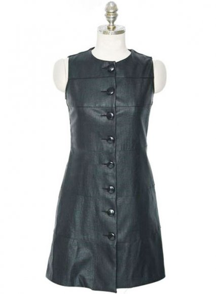 Tonga Leather Dress - # 759